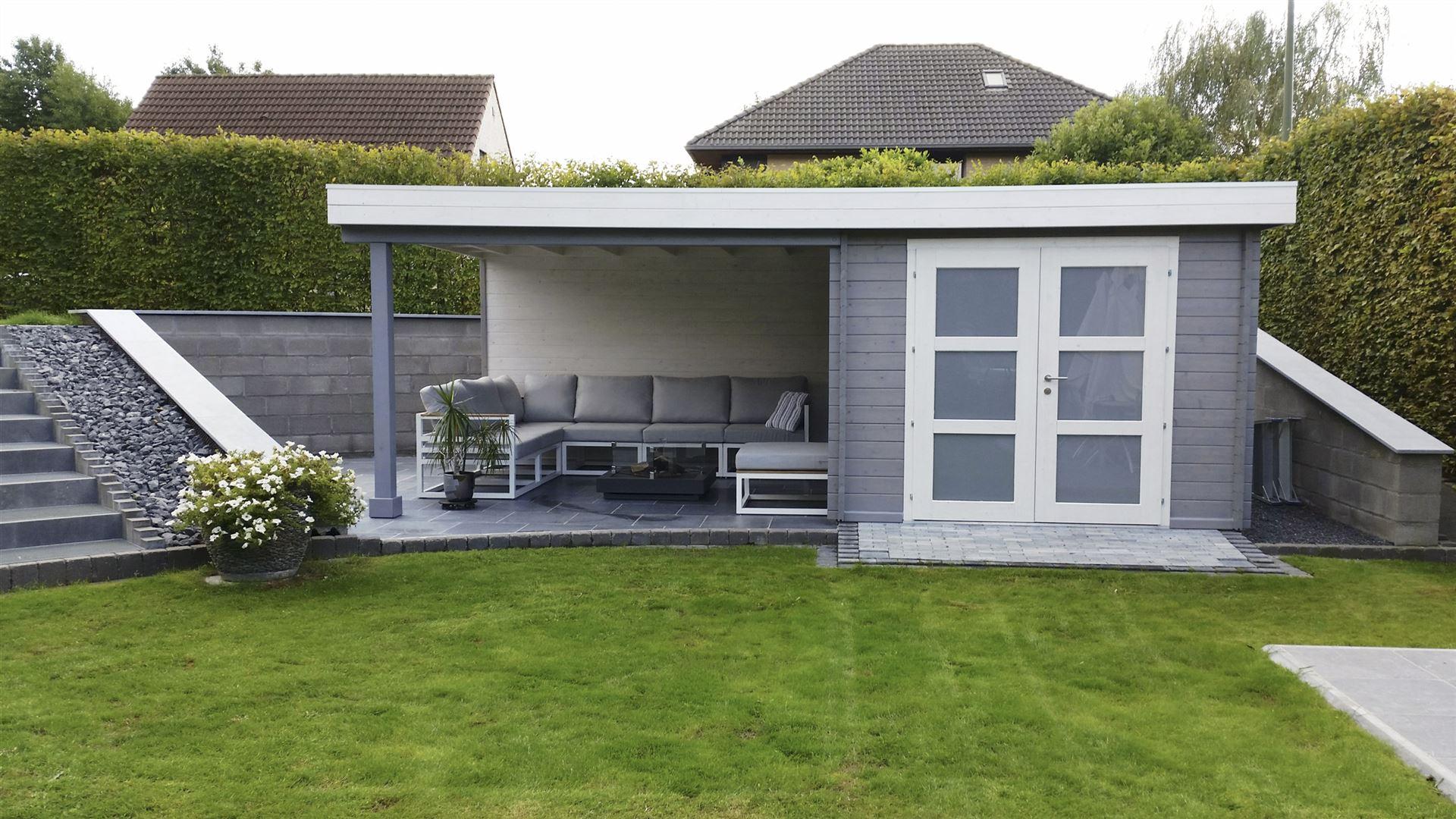 Blokwood Het Resultaat Tuinhuis Cottage Terrasoverkapping